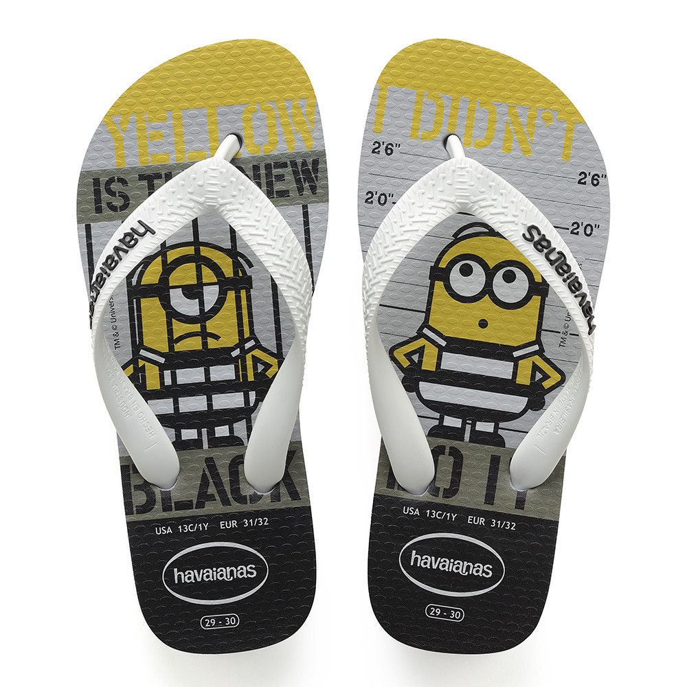bb2da177c11b Havaianas Minions Sandal Ice Grey Price From  15