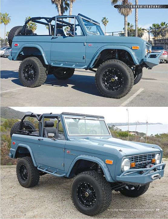 1974 Ford Bronco Ford Bronco Ford Chevrolet Camioneta