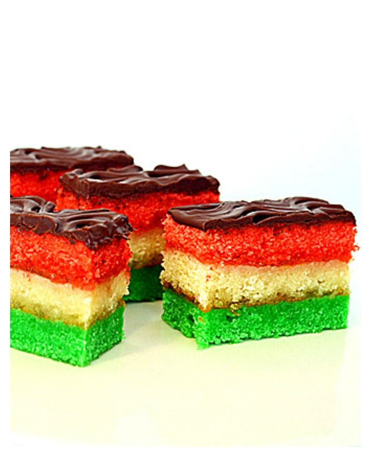Vegan Italian Tri-Color Rainbow Cookies by The Veg Life!