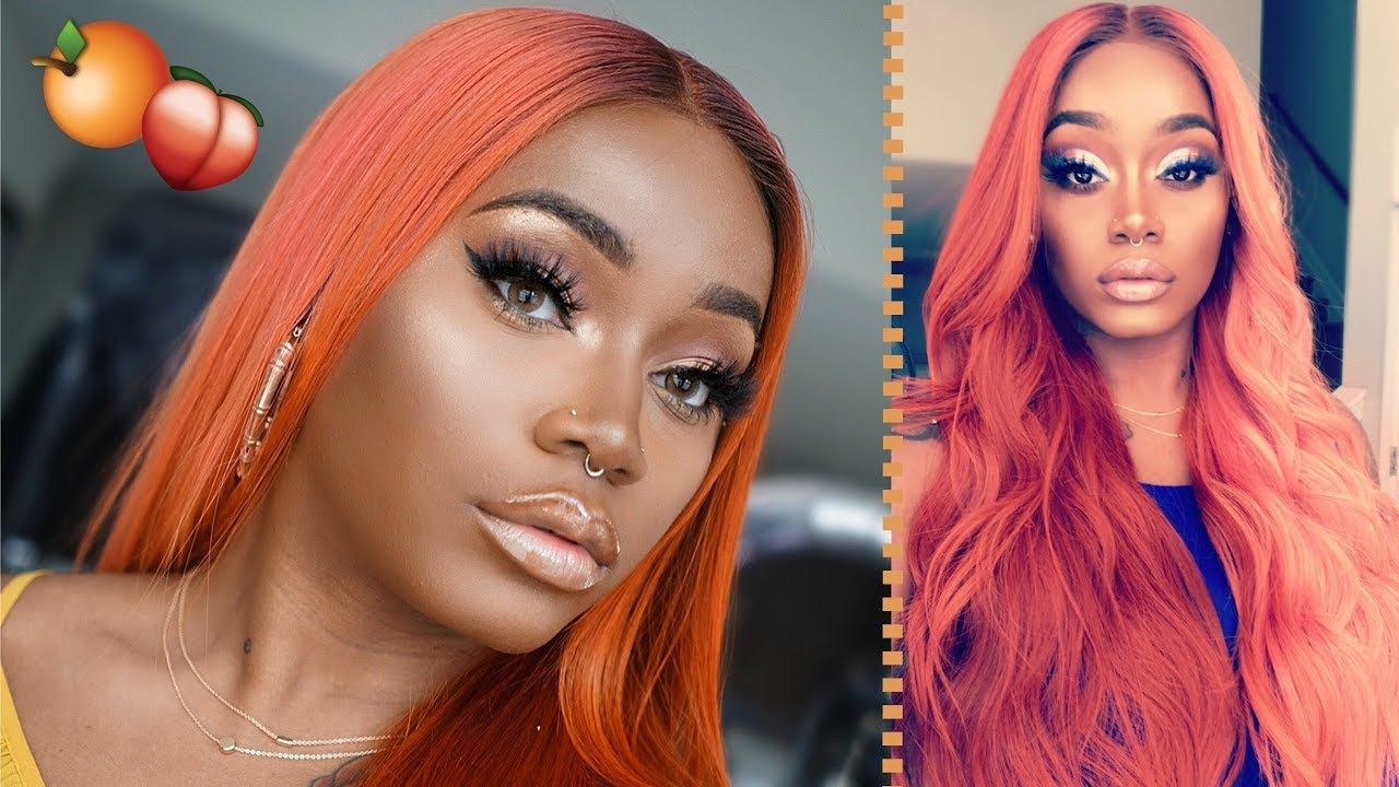 How To Get Watercolor Hair Rosegold Orange Ginger Haircolor