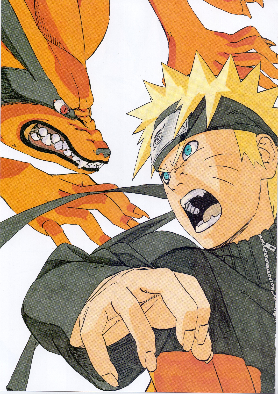 Naruto 2010992 Fullsize Image 3297x4680 Arte De Naruto Kurama Naruto Personajes De Naruto