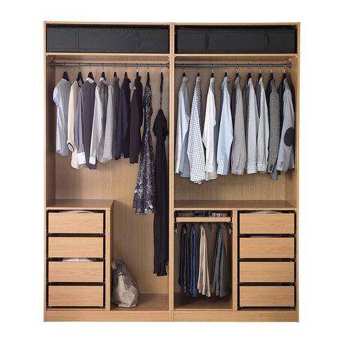 pax vaatekaappi ikea 885e koko 200x66x236. Black Bedroom Furniture Sets. Home Design Ideas