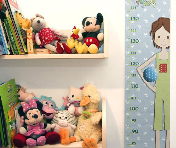 Boys Growth Chart , Personalized , Metric or Feet and Inches - boys growth chart
