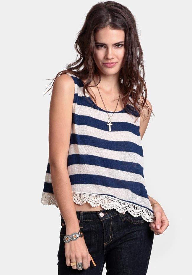 Summer Reminiscing Crop Top #threadsence #fashion