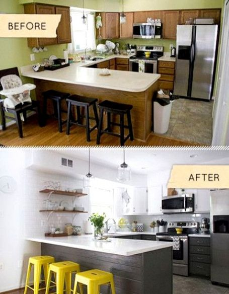 1960s Kitchen Remodel Before After: Kitchen Remodel Ideas Before And After 2603