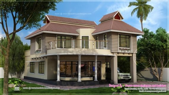 Story House Exterior Designs HouseDesignPicturescom Two - Two storey house exterior design