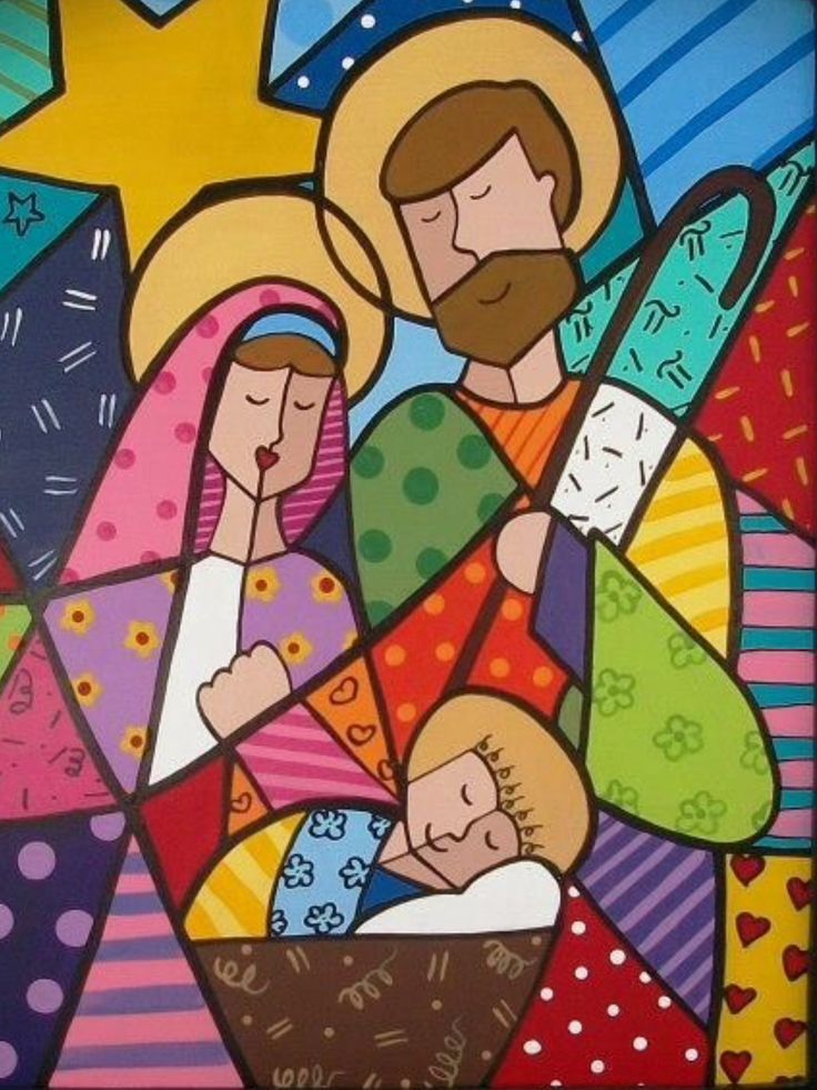 Image Result For Romero Britto Images With Images Christmas
