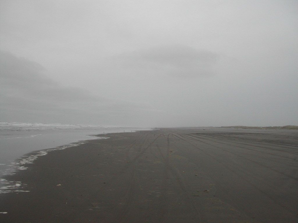 Overcast Long Beach Wa