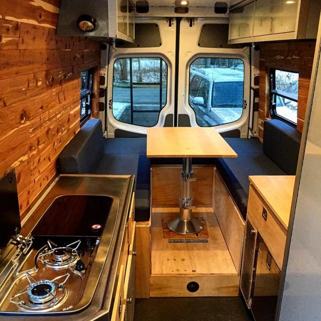 wohnmobil ausbau die 31 besten camper ausbauten van. Black Bedroom Furniture Sets. Home Design Ideas