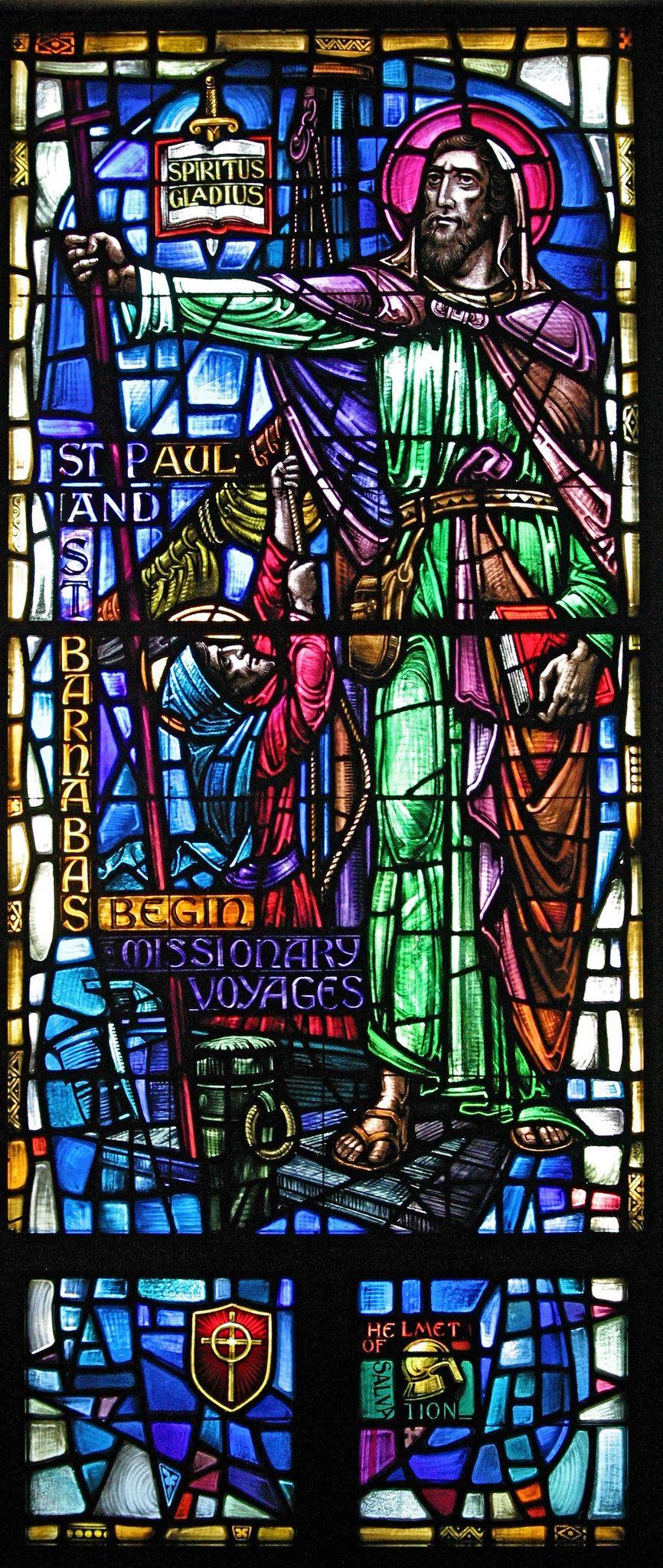 https://flic.kr/p/nhHjqW | IMG_8799 | Willet Studio windows at St. Christopher's Catholic Church, Philadelphia, PA. Designed by Colum Sharkey.