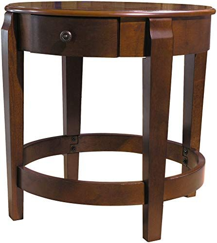 new fairview game rooms round accent table concealed