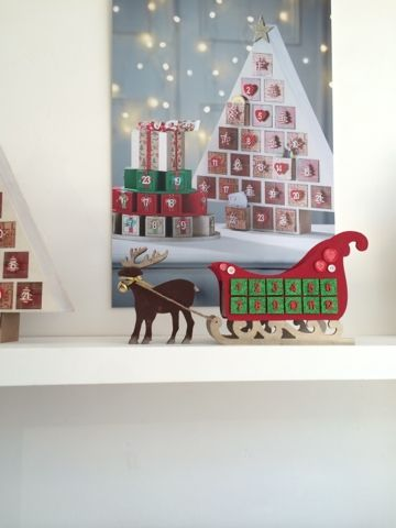 make your own advent calendar Christmas Pinterest Advent ideas