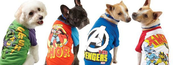 Marvel Pets By Sparklegirljen Via Flickr Kopek Kedi