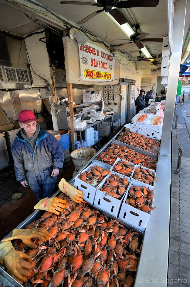 Pin By Christine J On District Of Columbia Seafood Market Seafood Blue Crab
