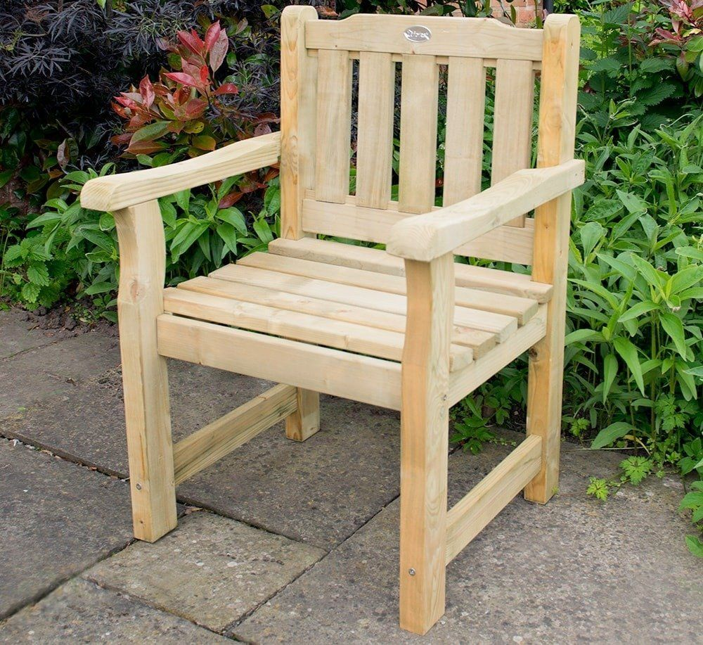forest rosedene chair - Garden Furniture Traditional