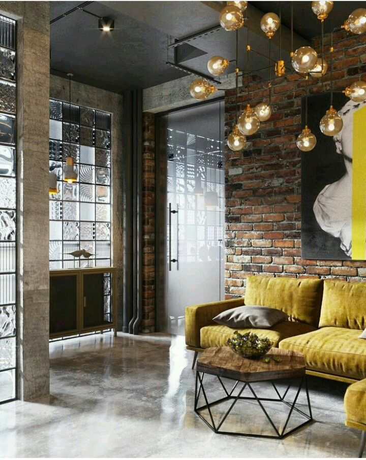 Industrial chic Elegant meets industrial For more