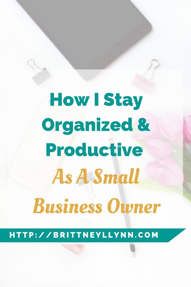 Click to learn how i stay organized and productive as a