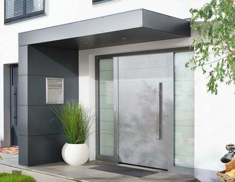 vordach f r haust ren von siebau diverses pinterest haus vordach und haust r. Black Bedroom Furniture Sets. Home Design Ideas
