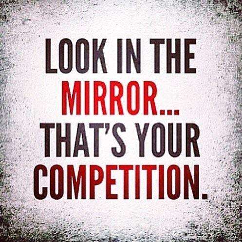 Time for motivational quotes by lennonjohnjde513 I say this all the time.  regram @coach_lize Improve yourself. Learn something every day. Put the new knowledge out there. And keep on getting better!  Se olhe no espelho essa é a sua competição. Seja melhor. Aprenda algo novo todos os dias. Aplique o novo conhecimento. E continue melhorando quem você é.  #selfimprovement #improvement #evolve #growth #selfcare #lifestyle #lifecoaching #coachlize #coachingdevida #businesscoaching…