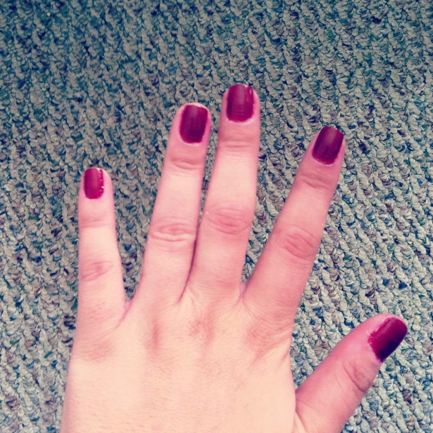 First nail polish in my new line Cranberry Couture | Nails | Pinterest