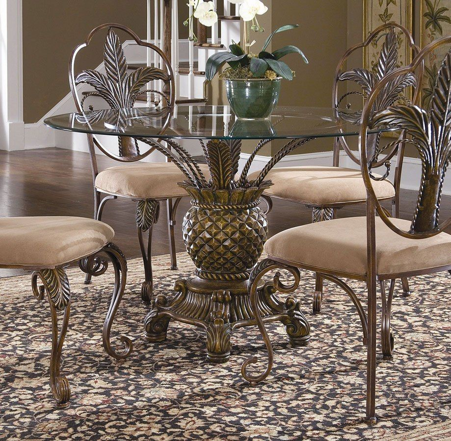 Pineapple Dining Table And Chairs, Pineapple Dining Room Set