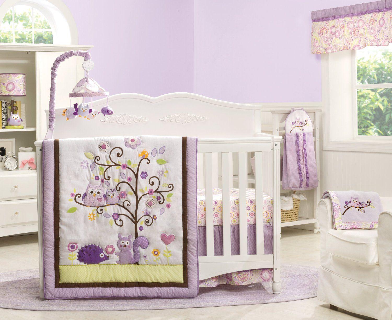 Dena Owl Blossom Baby Bedding Collection