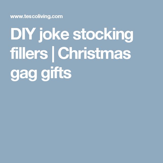 Diy Joke Stocking Fillers Christmas Gag Gifts