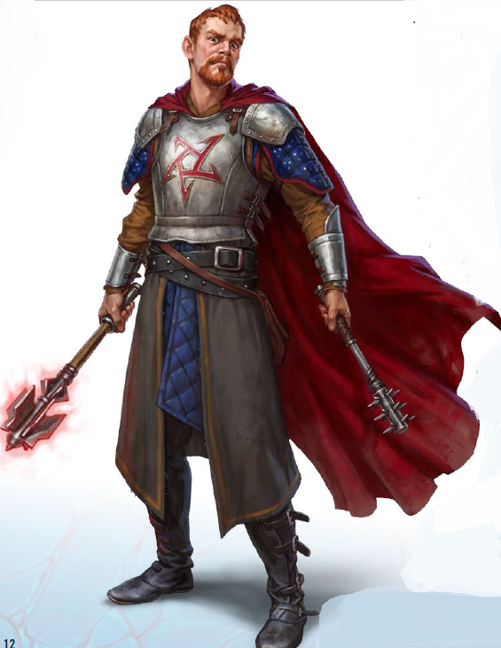 Male Cleric Concept Art