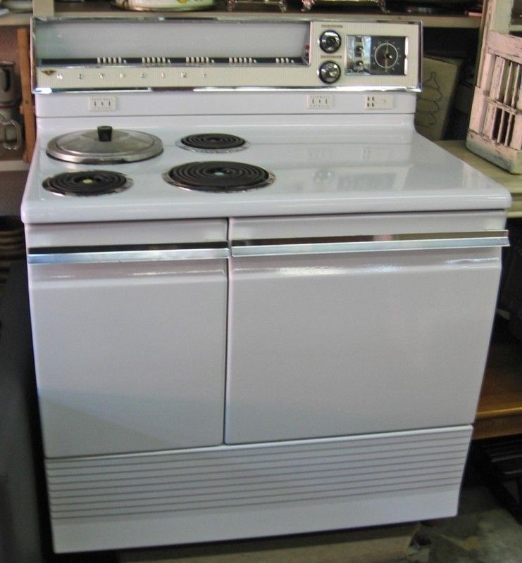 Are Vintage Electric Stoves Safe ~ Vintage s hotpoint automatic electric range my retro
