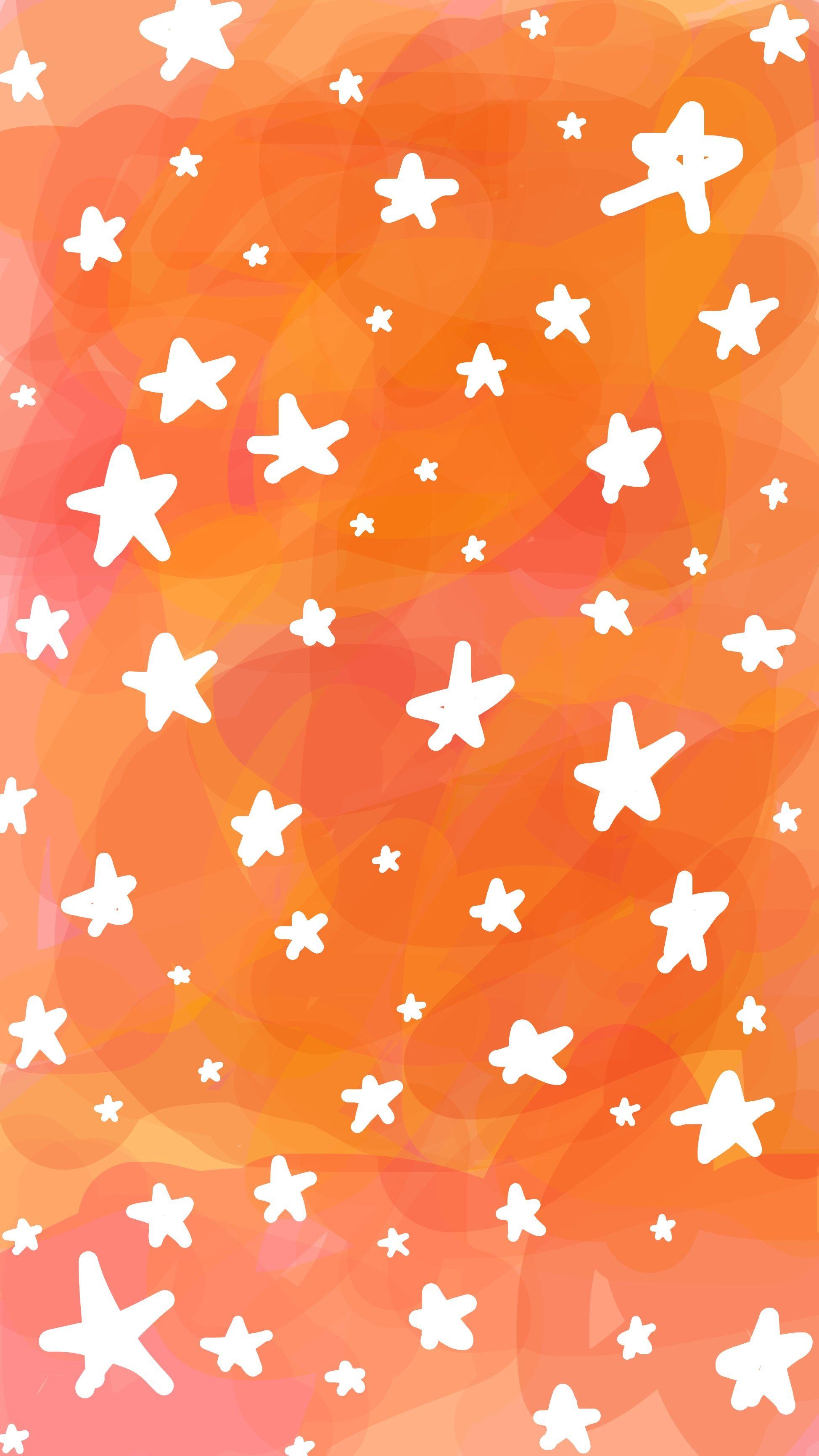 phone lockscreen background pink orange yellow white