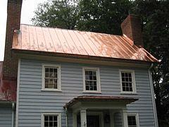 Standing Seam Copper Roof Metal Roof Aluminum Roof Copper Roof
