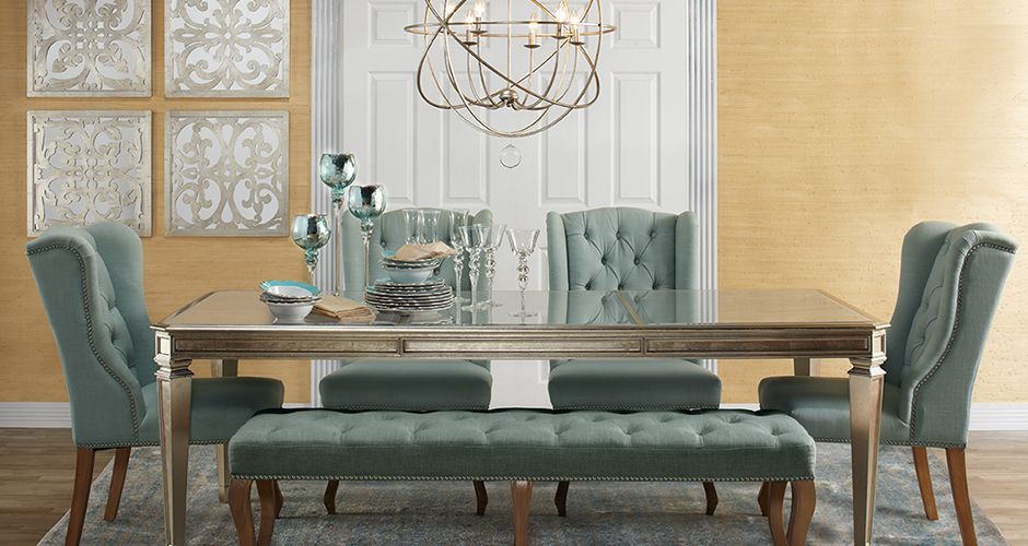 Inspired by this look on @ZGallerie from Z Gallerie dining room