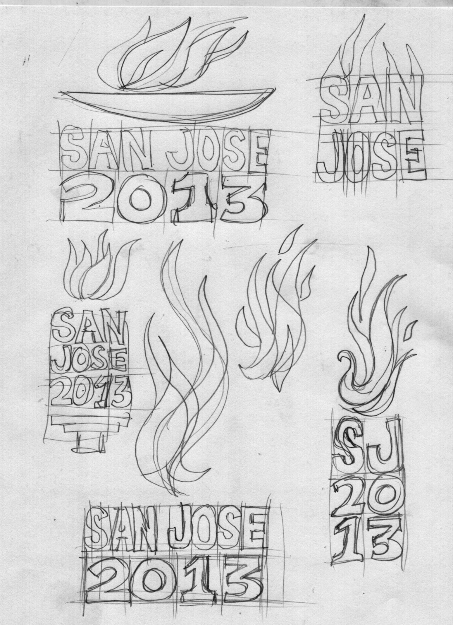 Bocetos A Lapiz Logo Juegos Deportivos Centroamericanos San Jose 2013 Diseno Joaquin Brenes Bocetos A Lapiz Disenos De Unas Diseno Grafico