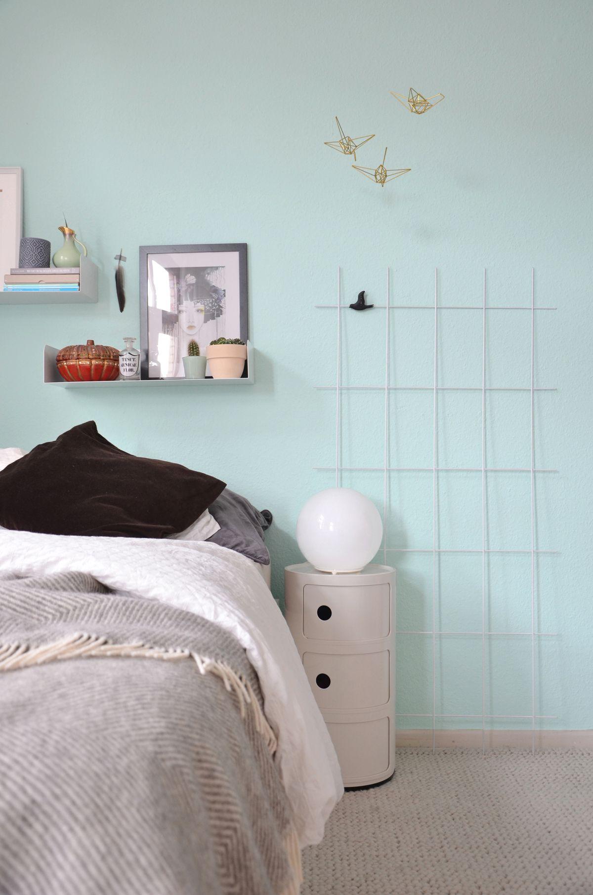 Umstyling Neue Farbe Im Schlafzimmer Wohnen Haus Deko Haus