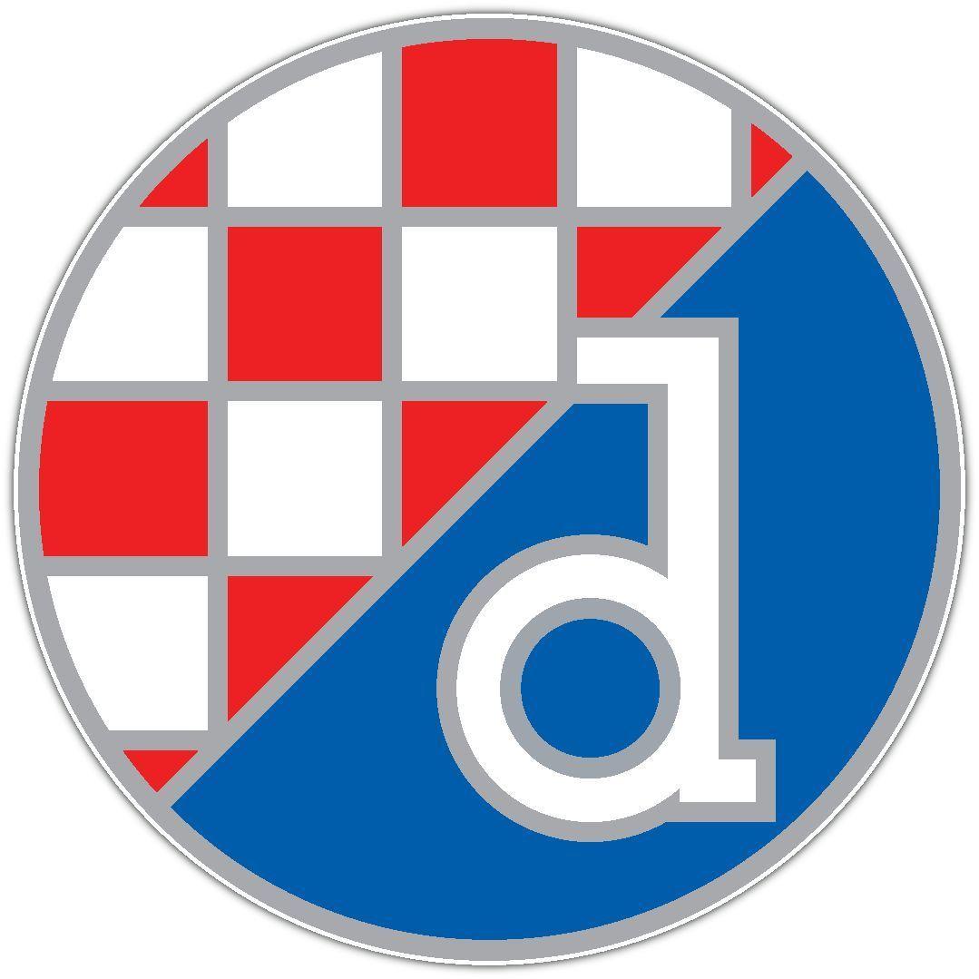 Gnk Dinamo Zagreb Croatia Football Soccer Car Bumper Sticker Decal 4 5 X4 5 Gnk Dinamo Zagreb Football Logo Zagreb