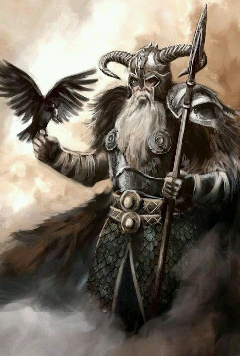 In Germanic mythology, Odin (from Old Norse Óðinn) is a widely