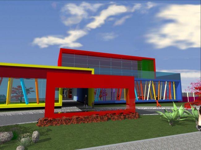 Elementary School Classroom Design Standards ~ Escola infantil school architecture pinterest
