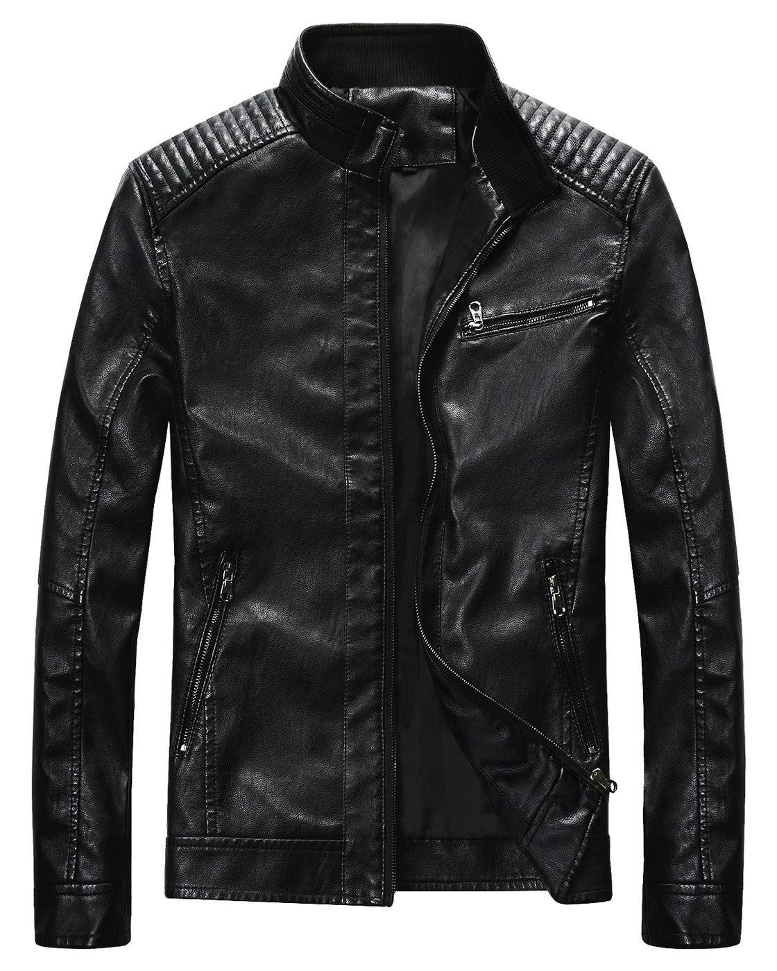 MILWAUKEE LEATHER Men's Classic Side Lace Police Style