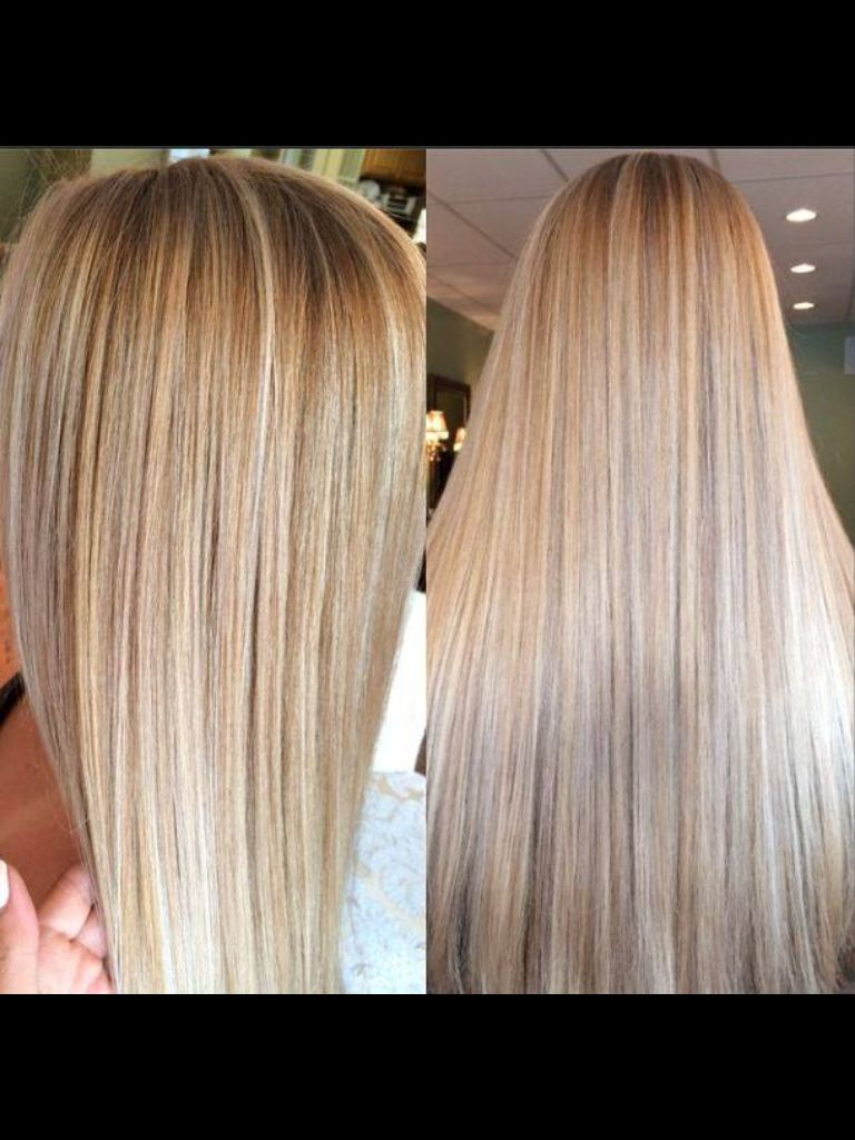 Dark Brown Hair Light Brown And Blonde Highlights