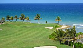 Cinnamon Hill golf club, Montego Bay, #Jamaica.  The course  situated on what used to be a large sugar plantation. Jamaica's past history is still present throughout the golf course in the form of graveyards and ruins of old homes.