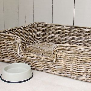 Extra Large Dog Bed Pet Basket Rattan Wicker Xlarge Wicker Dog Bed Basket Dog Bed Dog Bed Large