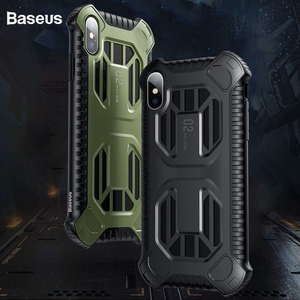 Baseus armor case for iphone xs max xr xs antiknock full