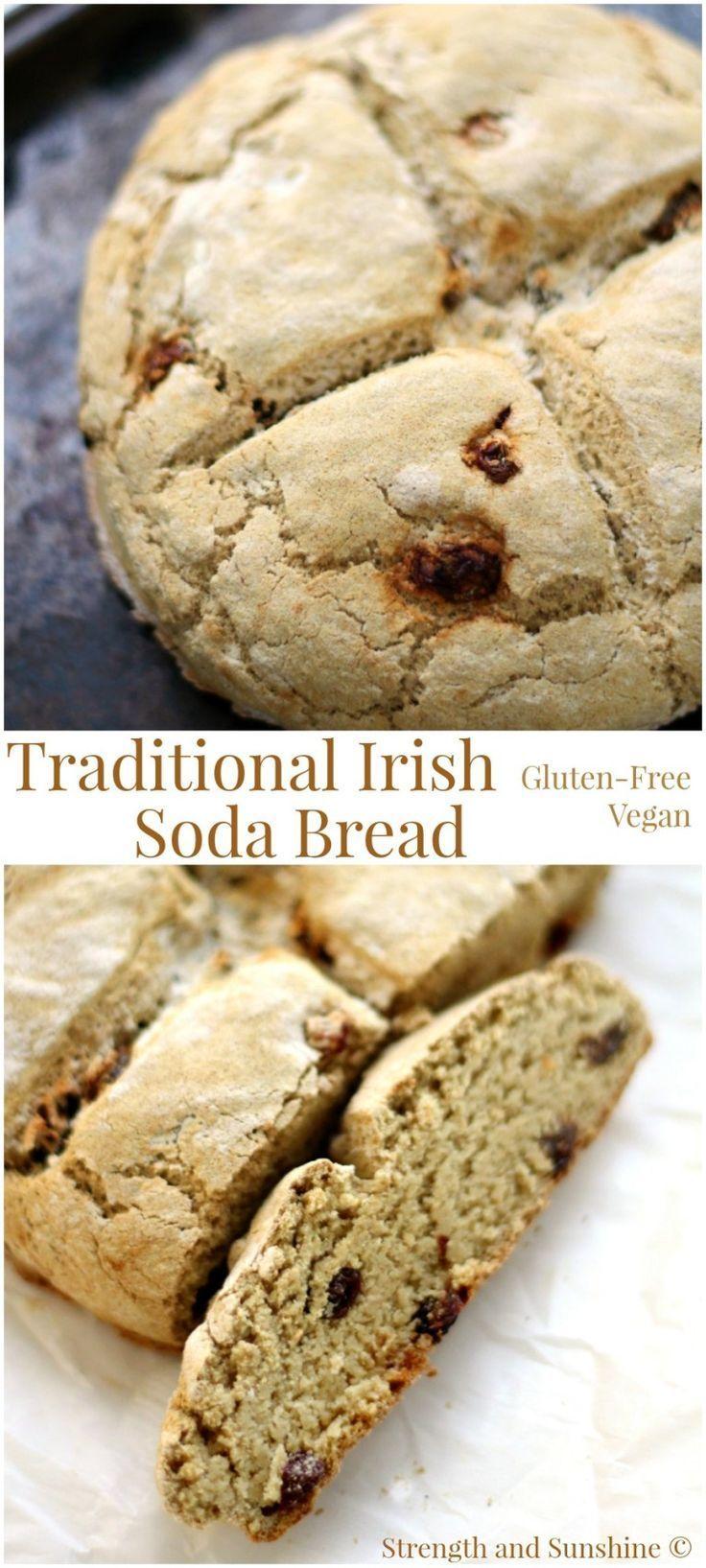Irish Soda Bread (Glutenfree/Vegan) with Amaranth, Millet