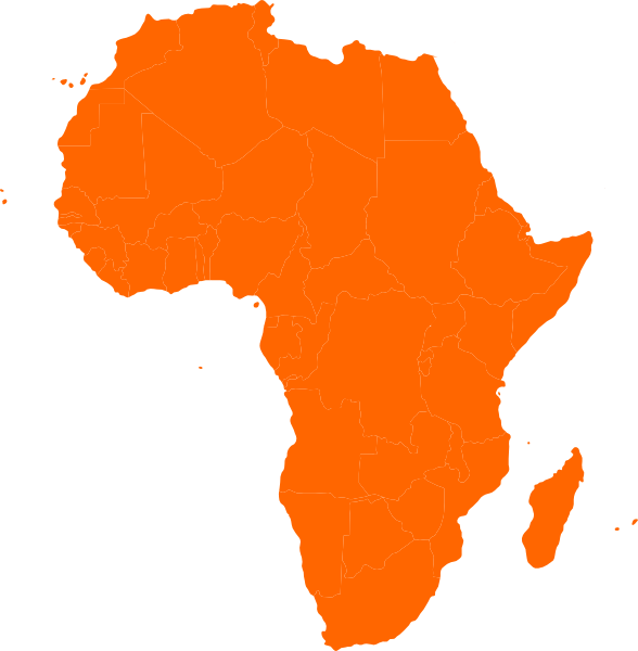 Image result for africa map clipart