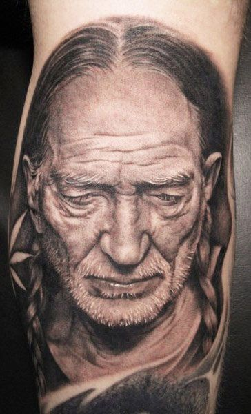 Portraits Tattoo By Bob Tyrrell Post 1666 Portrait Tattoo Tattoos Black And Grey Tattoos