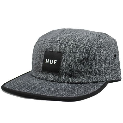 3080a947a47 Huf Japanese Speckle Volley Strapback Hat (Black)  39.95