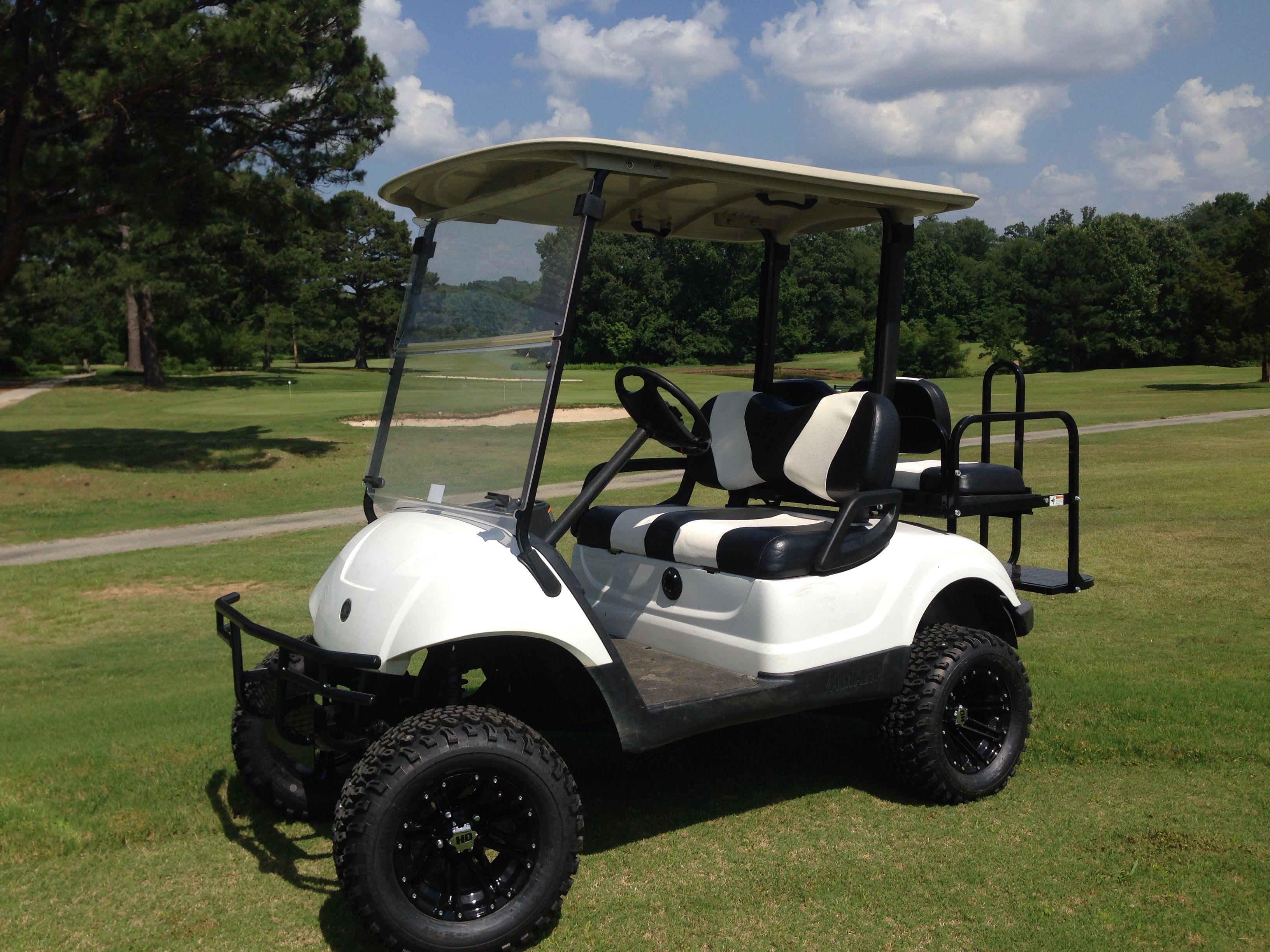 Yamaha Lifted Golf Car Golf Carts Golf Car Golf