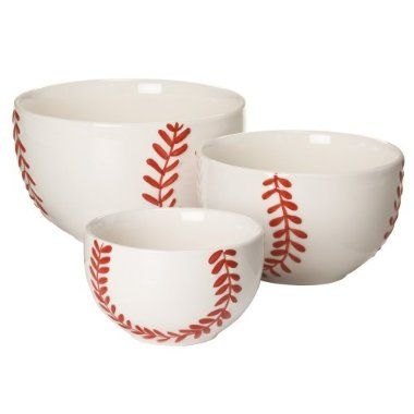 Baseball Serving Bowls Giants Baseball Baseball