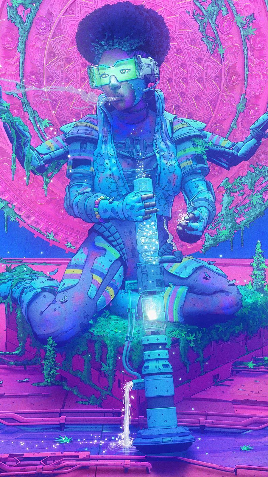 Cyberpunk phone wallpapers | HeroScreen in 2020 | Phone ...