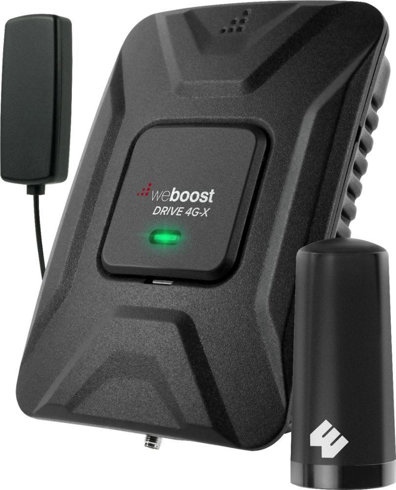 Weboost Drive 4g X Fleet Cell Phone Signal Booster Black Cell Phone Signal Cell Phone Signal Booster